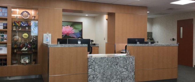 MDACC International Center Lobby