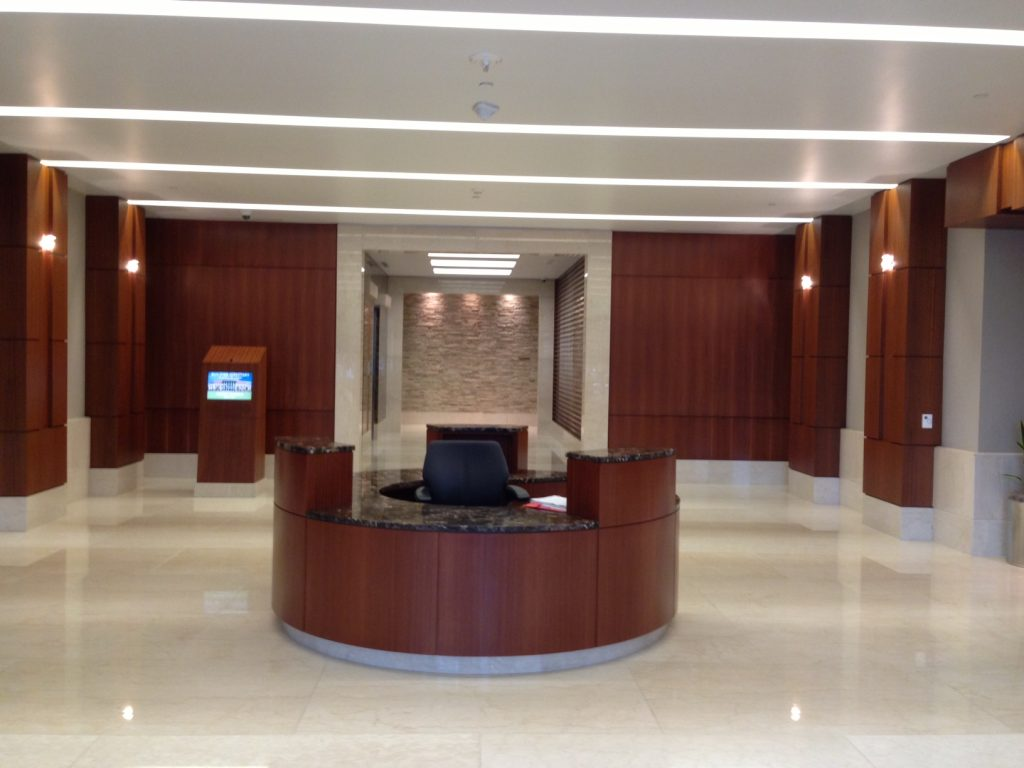 Parkway Auto Sales >> Reception Desks – Martinez Millwork, Inc.